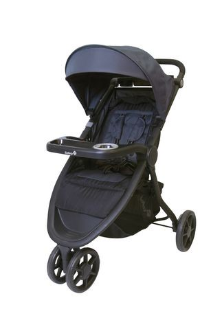$100 Safety 1st Trivecta Dark Slate Baby Stroller