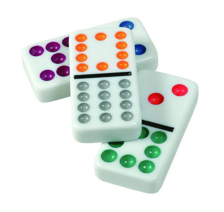 Cardinal Double Twelve Mexican Train Dominoes Game | Walmart.ca