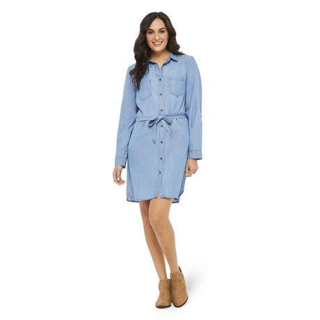 0d281dbc30f Robe chemise en denim George pour femmes - image 1 de 6 ...
