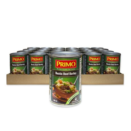 Primo Soup Primo Rustic Beef Barley Soup Case Pack - image 1 of 2