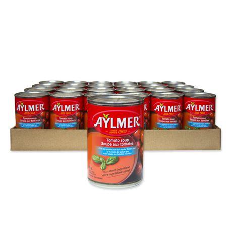 Caisse de soupe condensées Aylmer aux tomates failble en sodium - image 1 de 2