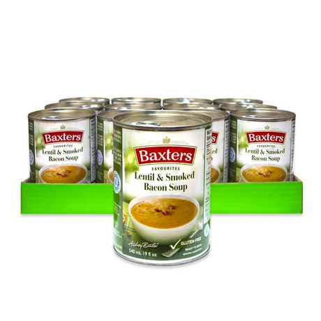 Baxters Favourites Soups Baxters Favourites Lentil & Smoked Bacon Soup Case Pack - image 1 of 2