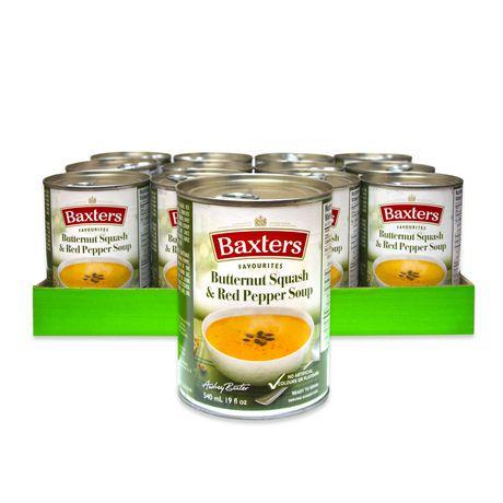 Caisse de soupe Baxters Favourites à la courge musquée et aux poivrons rouges - image 1 de 2
