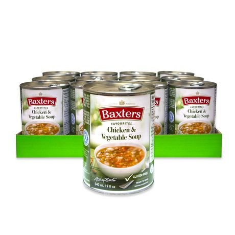 Baxters Favourites Soups Baxters Favourites Chicken Vegetable Soup Case Pack - image 1 of 2