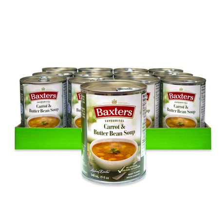 Baxters Favourites Soups Baxters Favourites Carrot & Butter Bean Soup Case Pack - image 1 of 2
