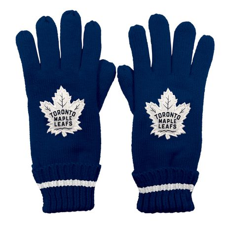 NHL Toronto Maple Leafs Mens Ultimate Fans Winter Gloves - image 1 of 3