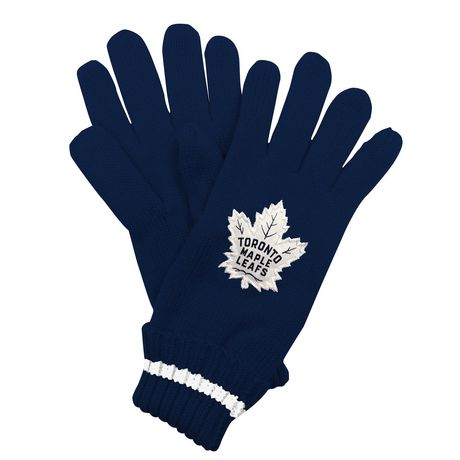 NHL Toronto Maple Leafs Mens Ultimate Fans Winter Gloves - image 2 of 3