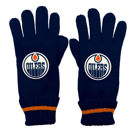NHL Calgary Flames Mens Ultimate Fans Winter Gloves - image 1 of 3
