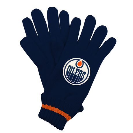 NHL Calgary Flames Mens Ultimate Fans Winter Gloves - image 2 of 3