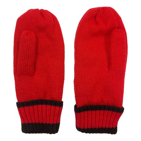 NHL Montreal Canadiens Mens Ultimate Fans Winter Mittens - image 3 of 3
