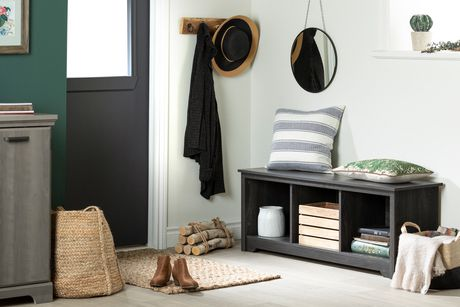 South Shore Vito Cubby Storage Bench - image 2 of 5