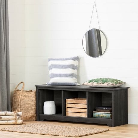South Shore Vito Cubby Storage Bench - image 1 of 5