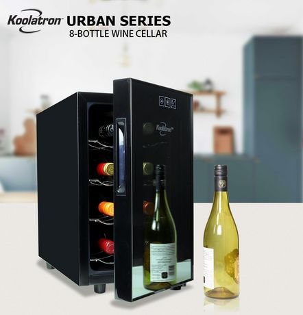 Koolatron WC08 8 Bottle Thermoelectric Wine Cooler - image 2 of 5