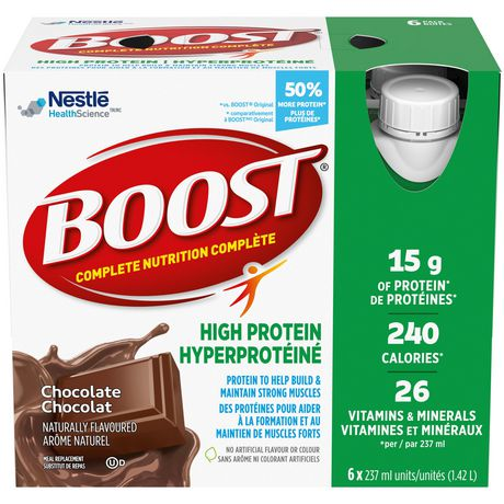 boost high protein chocolate meal replacement drink. Black Bedroom Furniture Sets. Home Design Ideas