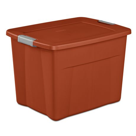 Sterilite Boîte Snap 83L- Orange - image 1 de 3
