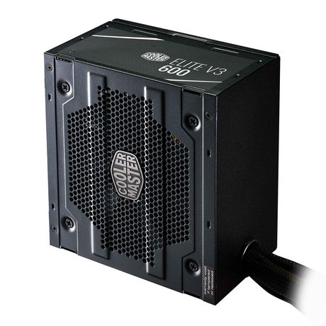 Cooler Master ATX Power Supply with quiet 120mm Fan - Elite V3 600 - image 3 of 9