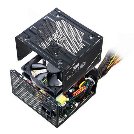 Cooler Master ATX Power Supply with quiet 120mm Fan - Elite V3 600 - image 9 of 9