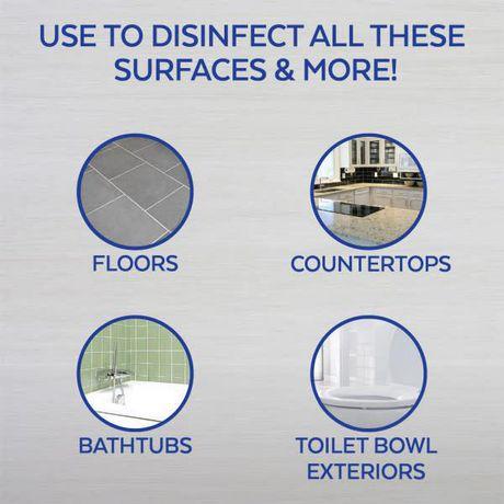 Nettoyant tout usage Lysol à diluer dans l'eau, Grenade et fleurs de cerisier, 1,2L, nettoyant tout usage - image 4 de 5