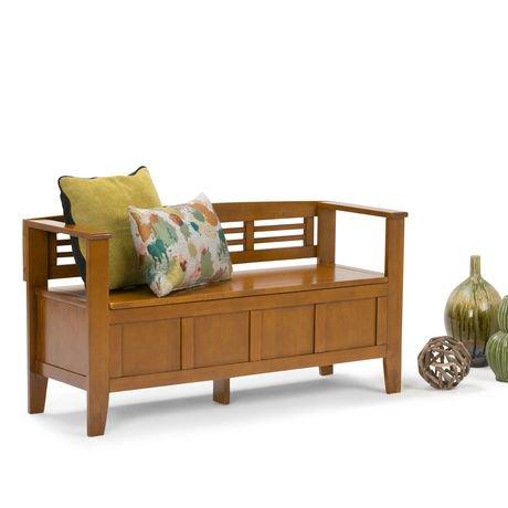 banc de rangement chandler pour l 39 entr e de wyndenhall walmart canada. Black Bedroom Furniture Sets. Home Design Ideas