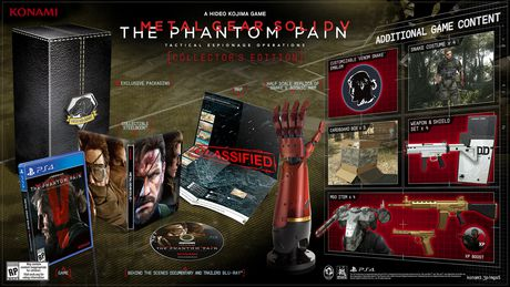 Metal Gear Solid V: The Phantom Pain Collector's Edition (PS4 Game)