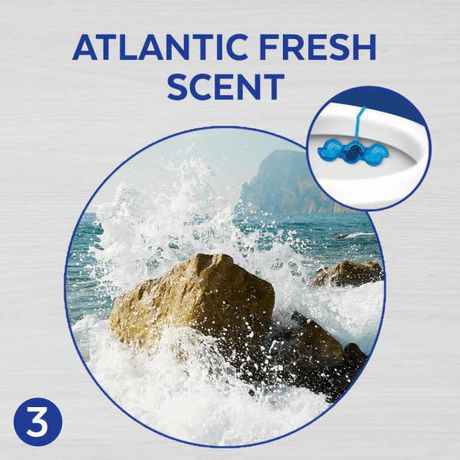 Lysol Blue Power 6, Automatic Toilet Bowl Cleaner, Ocean Fresh, 1 Count, Fight & Prevent Toilet Stains - image 6 of 9