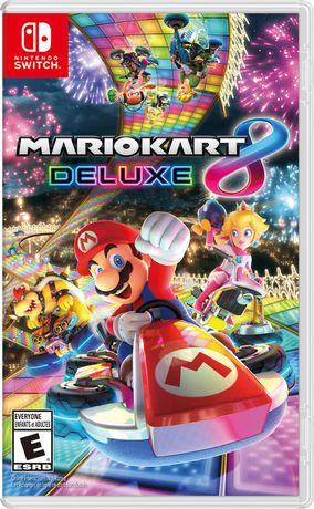 Jeu vidéo Mario Kart 8 Deluxe pour console de jeu vidéo Nintendo Switch