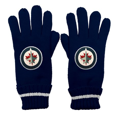 NHL Montreal Winnipeg Jets Ultimate Fans Winter Gloves - image 1 of 3