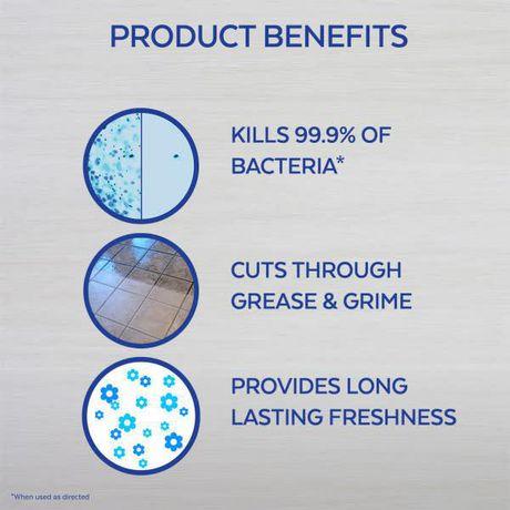 Nettoyant tout usage Lysol à diluer dans l'eau, Grenade et fleurs de cerisier, 1,2L, nettoyant tout usage - image 3 de 5