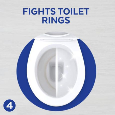 Lysol Blue Power 6, Automatic Toilet Bowl Cleaner, Ocean Fresh, 1 Count, Fight & Prevent Toilet Stains - image 7 of 9