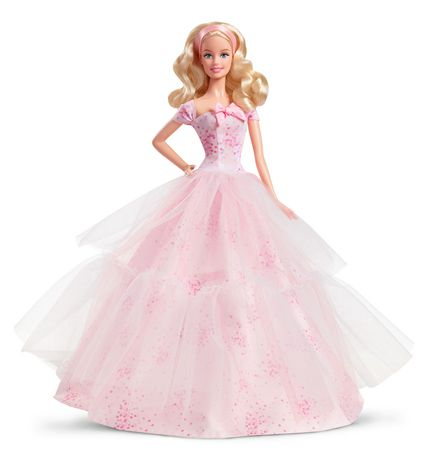Barbie Birthday Wishes 2016 Barbie Doll - image 1 of 5