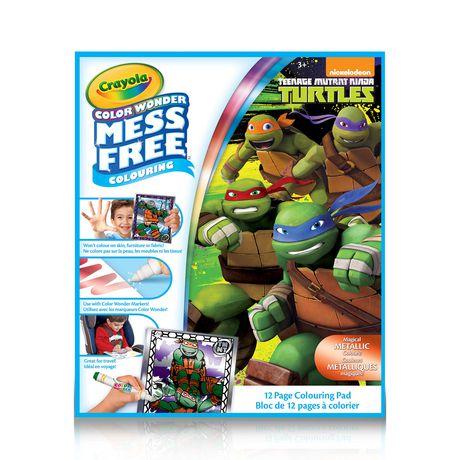 Crayola Teenage Mutant Ninja Turtles