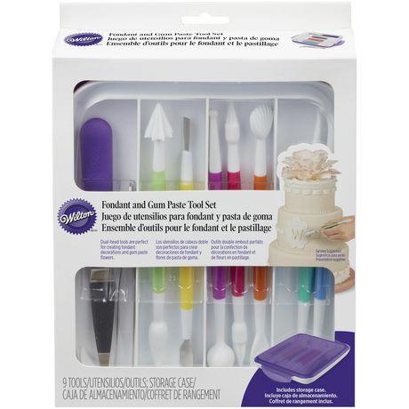 Wilton Fondant and Gum Paste 10-Piece Tools Set - image 1 of 5