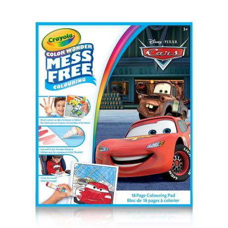 Crayola Cars Color Wonder Book | Walmart Canada