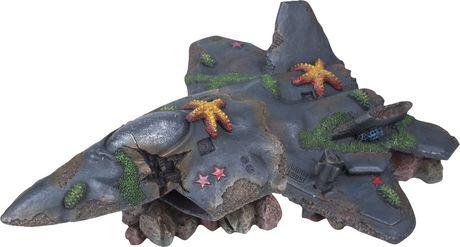 Ornement d'aquarium Penn Plax Deco-Wrecks Fighter Jet - image 1 de 1
