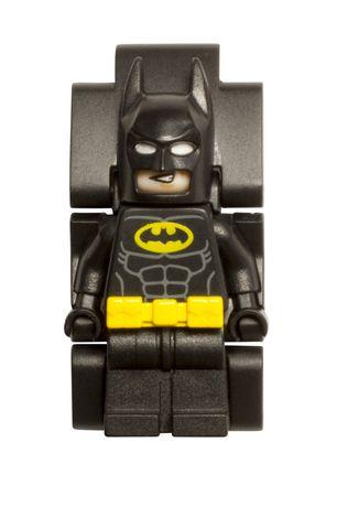 THE LEGO® BATMAN MOVIE Batman™ Minifigure Link Watch ...