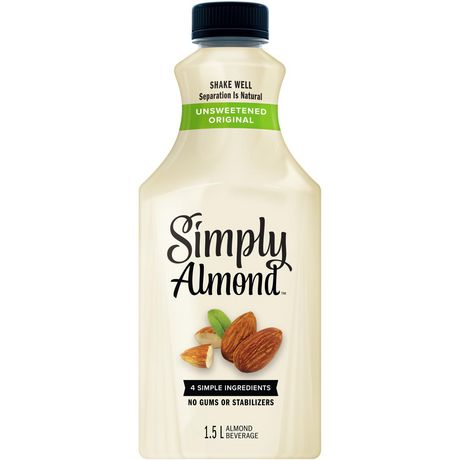 Simply Almond Unsweetened 1.5L - image 1 of 1