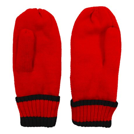 NHL Calgary Flames Mens Ultimate Fans Winter Mittens - image 3 of 3