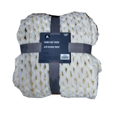 CHUNKY KNIT THROW - image 1 of 1