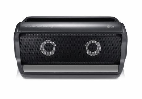 LG PK7 Portable Bluetooth Speaker with Meridian Technology - image 2 of 9