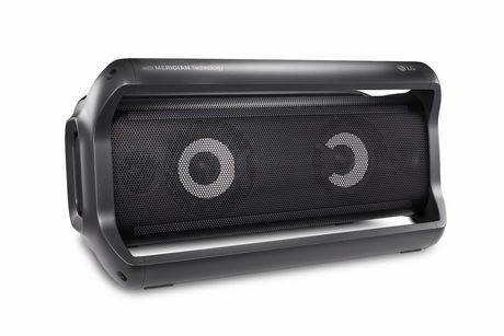 LG PK7 Portable Bluetooth Speaker with Meridian Technology - image 4 of 9