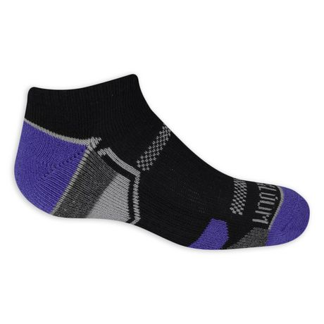 Fruit of the Loom Boys No Show Socks - 6 Pack - image 2 of 3