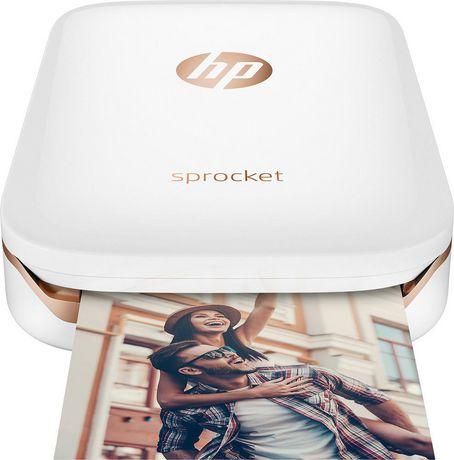 hp - sprocket 2nd edition instant photo printer - blush