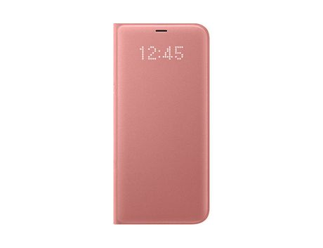 hot sale online f7db7 eb83f Pink LED View Cover for Samsung S8 Plus