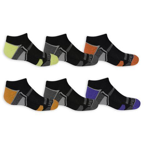 Fruit of the Loom socquettes invisibles pour garçons - 6 paires - image 3 de 3