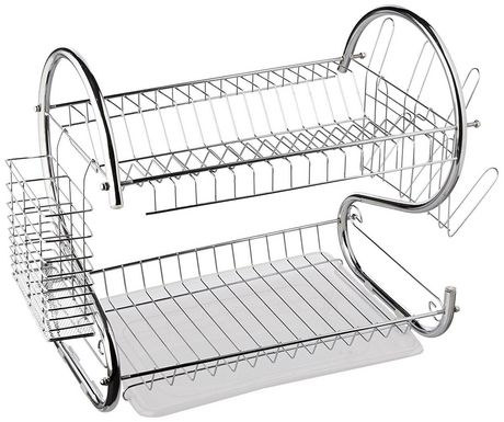 Dish Rack.Better Chef Dr 16 2 Tier Dish Rack 16 Inch Chrome