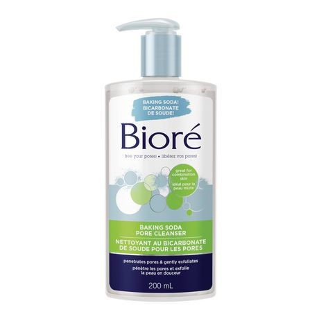 Biore Baking Soda Pore Cleanser 200 mL
