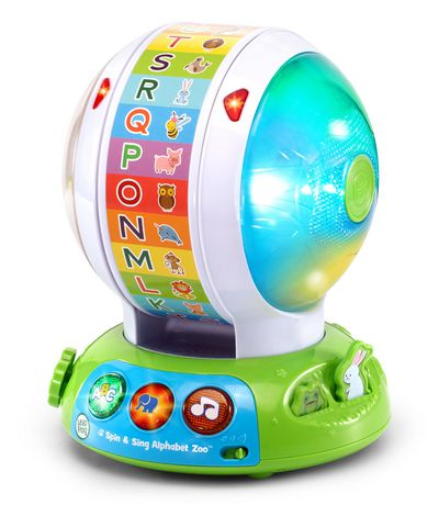 LeapFrog® Spin and Sing Alphabet Zoo™ English   Walmart Canada