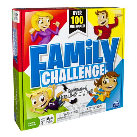 Spin Master Games - Beat The Parents Family Challenge Board Game - image 2 of 4