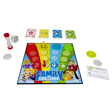 Spin Master Games - Beat The Parents Family Challenge Board Game - image 4 of 4