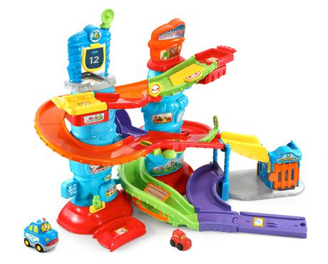 VTech® Go! Go! Smart Wheels® Launch & Chase Police Tower™ - English Version - image 1 of 9
